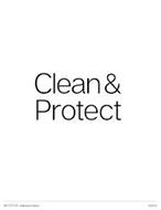CLEAN & PROTECT