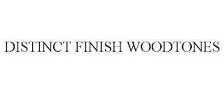 DISTINCT FINISH WOODTONES