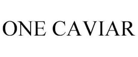 ONE CAVIAR