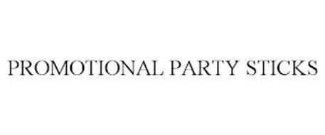 PROMOTIONAL PARTY STICKS