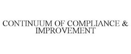 CONTINUUM OF COMPLIANCE & IMPROVEMENT