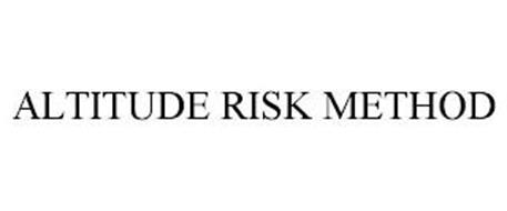 ALTITUDE RISK METHOD