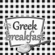 10% FAT GREEK BREAKFAST