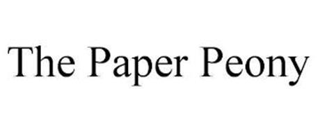THE PAPER PEONY