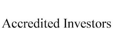 ACCREDITED INVESTORS