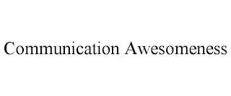 COMMUNICATION AWESOMENESS