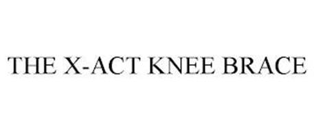 THE X-ACT KNEE BRACE