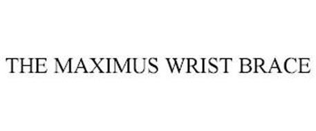 THE MAXIMUS WRIST BRACE