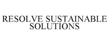 RESOLVE SUSTAINABLE SOLUTIONS