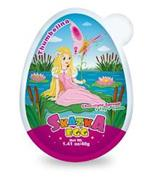 THUMBELINA CHOCOLATE SPREAD+TOY+GAME SKAZKA EGG NET WT. 1.41 OZ/40G