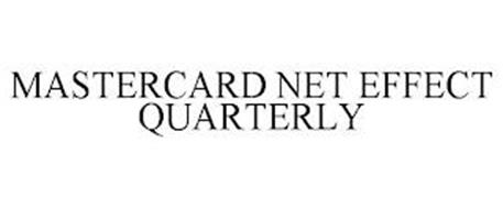 MASTERCARD NET EFFECT QUARTERLY