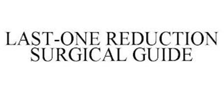 LAST-ONE REDUCTION SURGICAL GUIDE