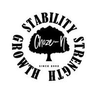 CHOZE-N STABILITY STRENGTH GROWTH SINCE2002