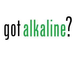 GOT ALKALINE?