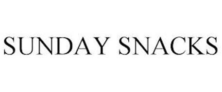 SUNDAY SNACKS