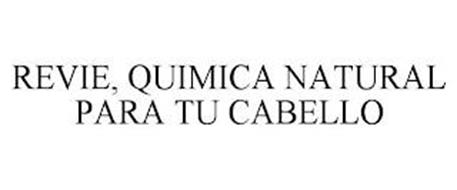 REVIE, QUIMICA NATURAL PARA TU CABELLO