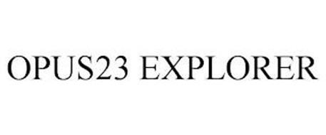 OPUS23 EXPLORER