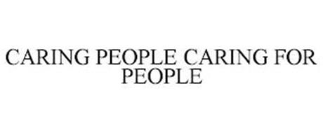 CARING PEOPLE CARING FOR PEOPLE