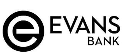 E EVANS BANK