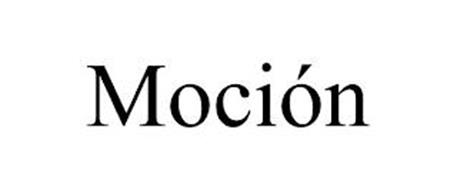 MOCIÓN