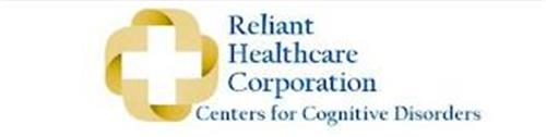 RELIANT HEALTHCARE CORPORATION CENTERS FOR COGNITIVE DISORDERS