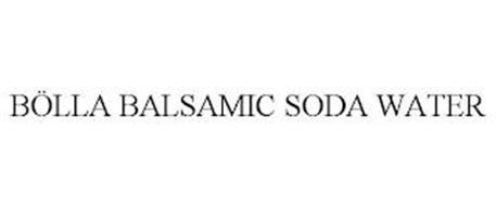 BÖLLA BALSAMIC SODA WATER