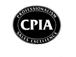 CPIA PROFESSIONALISM SALES EXCELLENCE