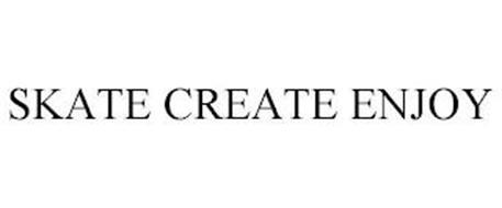 SKATE CREATE ENJOY