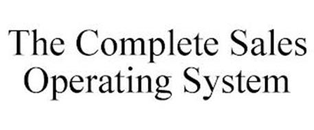 THE COMPLETE SALES OPERATING SYSTEM