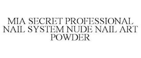 MIA SECRET PROFESSIONAL NAIL SYSTEM NUDE NAIL ART POWDER