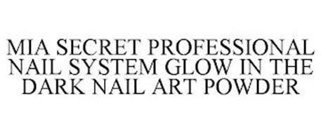 MIA SECRET PROFESSIONAL NAIL SYSTEM GLOW IN THE DARK NAIL ART POWDER