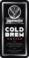 JÄGERMEISTER COLD BREW COFFEE HERBAL LIQUEUR MADE WITH ARABICA COFFEE AND A HINT OF CACAO MASTERFULLY BLENDED IN GERMANY