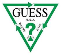 GUESS? U.S.A. WASHED JEANS 1201 1203