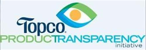 TOPCO PRODUCTRANSPARENCY INITIATIVE