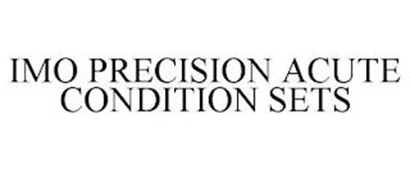 IMO PRECISION ACUTE CONDITION SETS