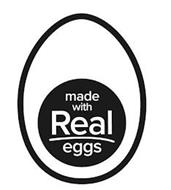 MADE WITH REAL EGGS