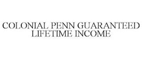 COLONIAL PENN GUARANTEED LIFETIME INCOME