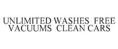 UNLIMITED WASHES FREE VACUUMS CLEAN CARS