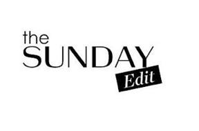 THE SUNDAY EDIT