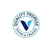 QUALITY PROMISE V TESTED & TRUSTED