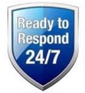 READY TO RESPOND 24/7