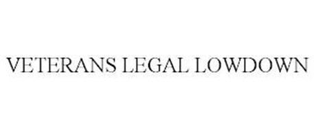 VETERANS LEGAL LOWDOWN