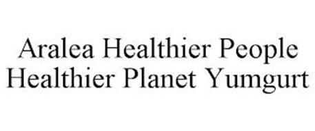 ARALEA HEALTHIER PEOPLE HEALTHIER PLANET YUMGURT