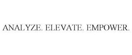 ANALYZE. ELEVATE. EMPOWER.