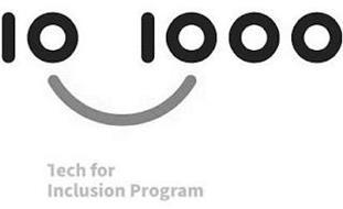 10 1000 TECH FOR INCLUSION PROGRAM