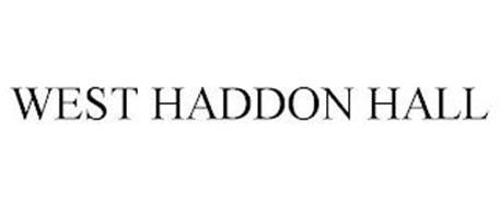 WEST HADDON HALL