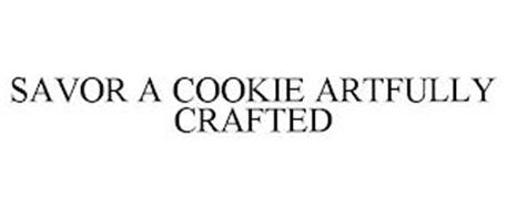 SAVOR A COOKIE ARTFULLY CRAFTED