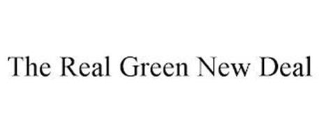 THE REAL GREEN NEW DEAL