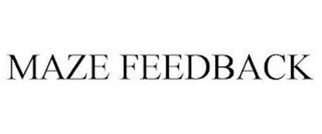 MAZE FEEDBACK