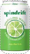 SPINDRIFT * LIME * UNSWEETENED SPARKLING WATER & REAL SQUEEZED FRUIT YUP, THAT'S IT.